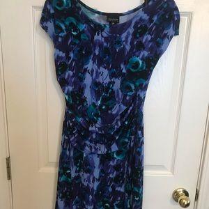 Purple blue Enfocus Studios dress 14P